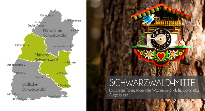 Mittlerer Schwarzwald - Kuckucksuhr