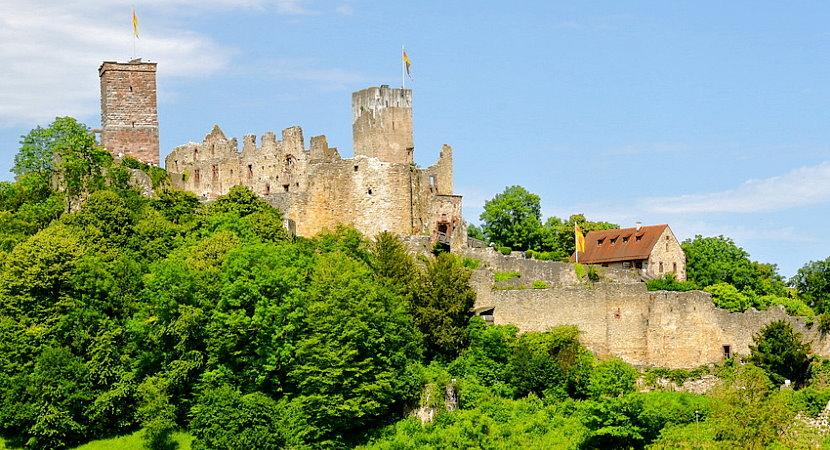 Südschwarzwald - Burg Rötteln in Lörrach